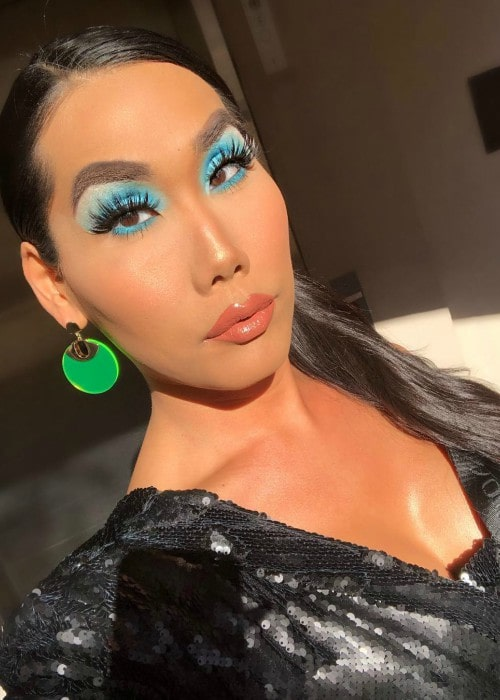 Gia Gunn in a selfie as seen in April 2019