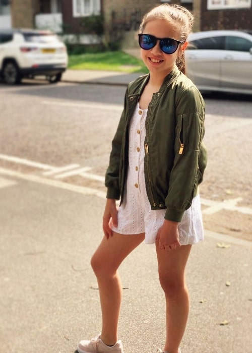 Grace Conder as seen while posing for a picture in May 2019