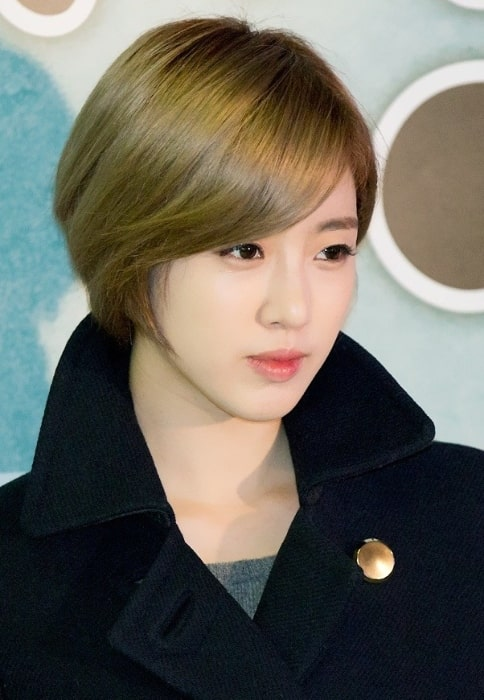 Hahm Eun-jung as seen at Love Jinx vip premiere in 2014