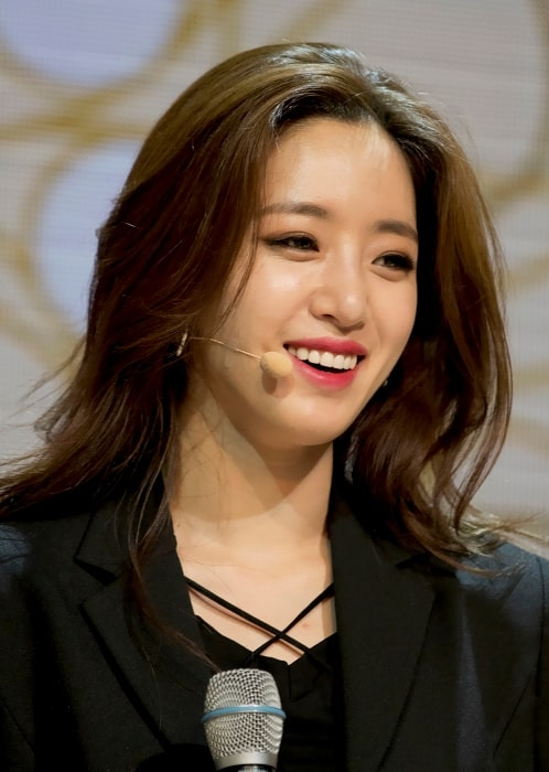 Hahm Eun-jung as seen during an event in June 2017