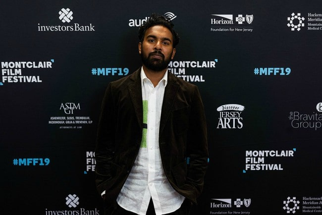 Himesh Patel during an event as seen in May 2019