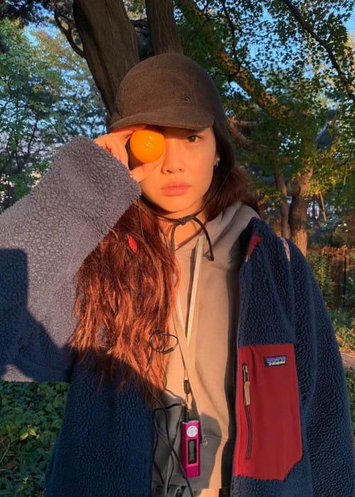 HoYeon Jung as seen in November 2019