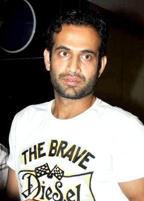 Irfan Pathan during an event