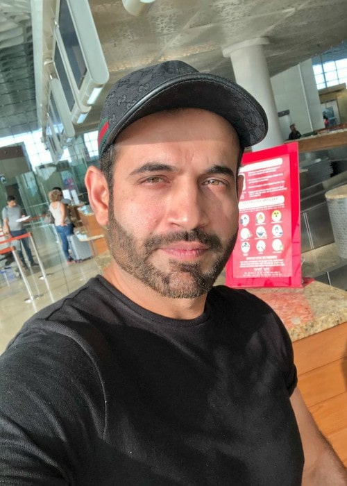 Irfan Pathan in a selfie as seen in December 2019