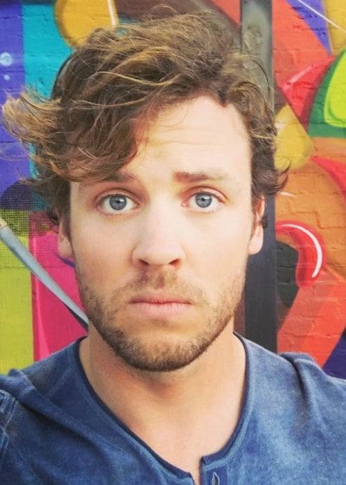 Jack Cutmore-Scott in an Instagram selfie as seen in July 2016