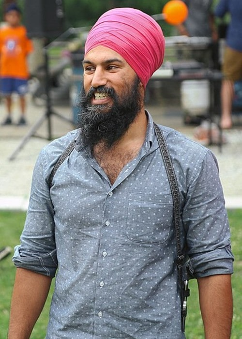 Jagmeet Singh as seen in August 2014