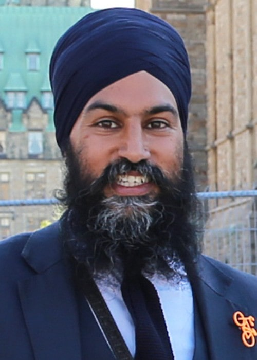 Jagmeet Singh as seen in May 2018