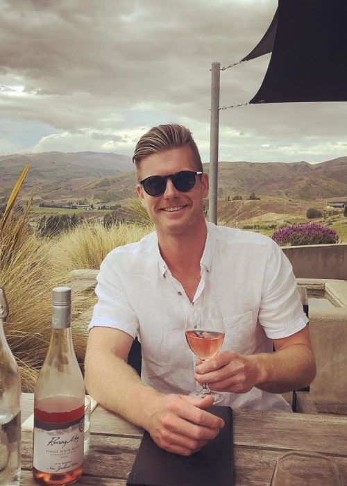 James Neesham as seen in a picture taken in Mt Difficulty Wines, New Zealand in November 2019