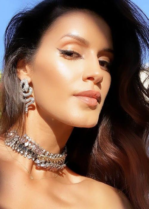 Jaslene Gonzalez in a selfie as seen in September 2019