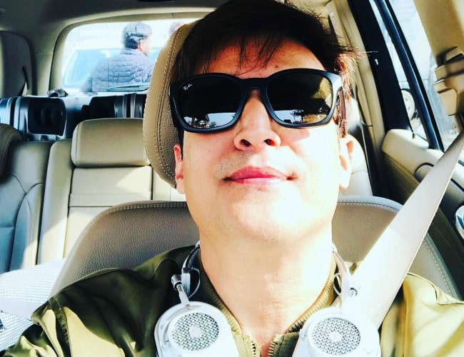 Jimmy Sheirgill in an Instagram selfie as seen in January 2018