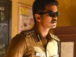 Joseph Vijay as seen in the movie Theri 2016