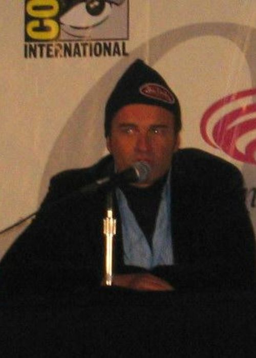 Julian McMahon seen at the comic-con international festival in 2005