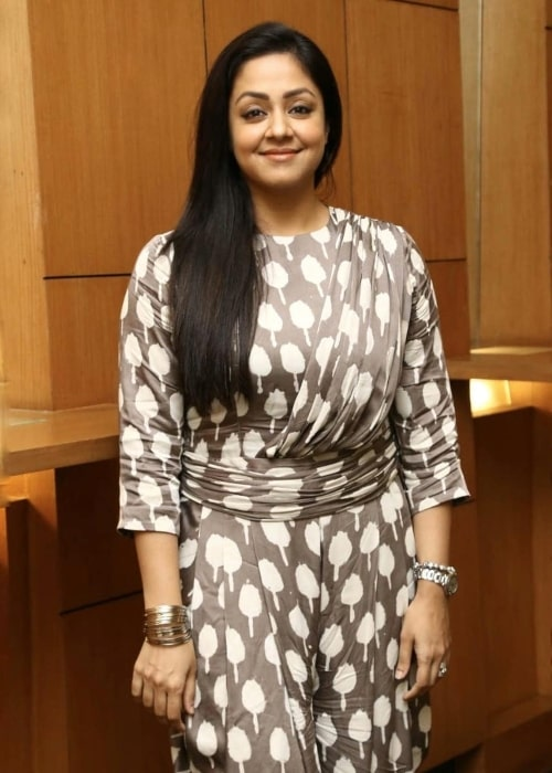 Jyothika as seen in a picture taken in Chennai, India in December 2019