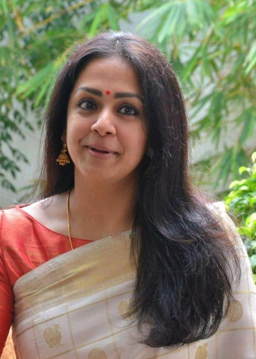 Jyothika as seen in a picture taken in Chennai, India in October 2019