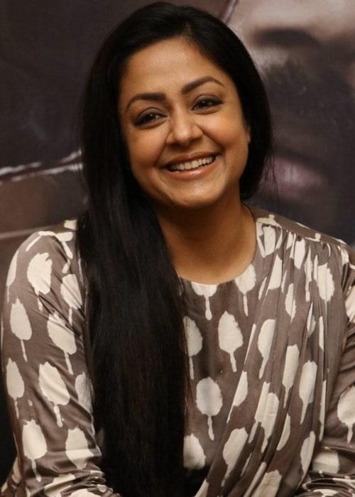 Jyothika as seen in a picture taken in December 2019