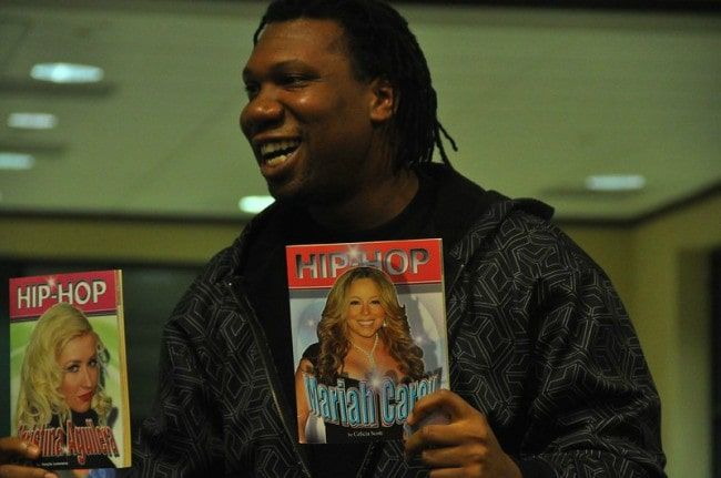KRS-One during an event in November 2009