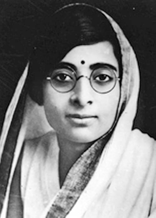 Kamala Nehru as seen in a picture taken before her death in 1936