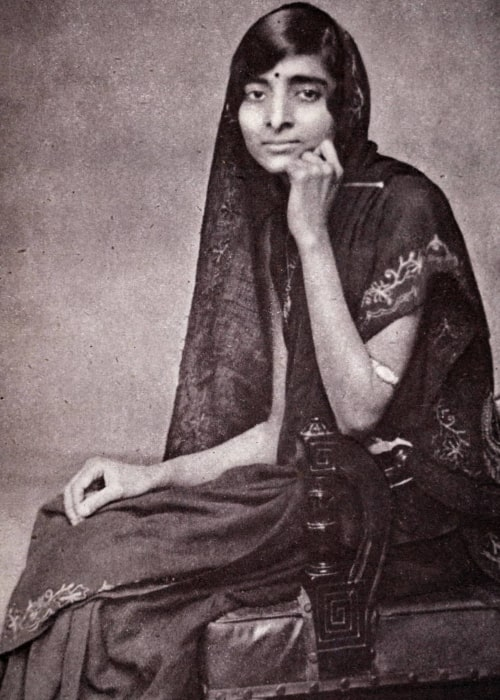 Kamala Nehru as seen in a picture taken sometime before 1936