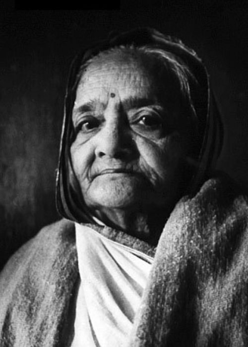 Kasturba Gandhi as seen in a picture taken in 1940