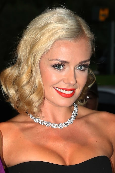Katherine Jenkins at Boodles Boxing Ball in 2013
