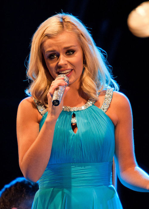 Katherine Jenkins performing LIVE at Clumber Park in August 2011