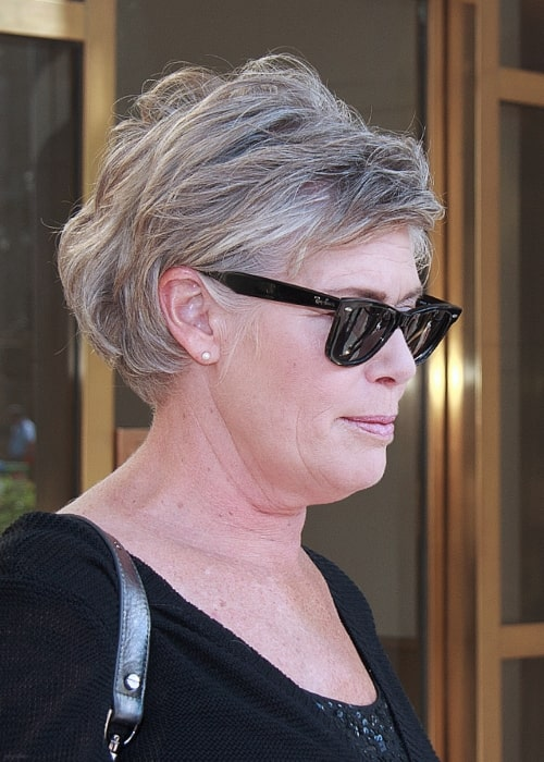 Kelly McGillis as seen in a picture taken at the 2010 Toronto International Film Festival