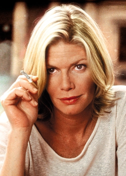Kelly McGillis as seen in a production still taken while she portrayed the character of Professor Diana Maitland in The Monkey's Mask (2000)