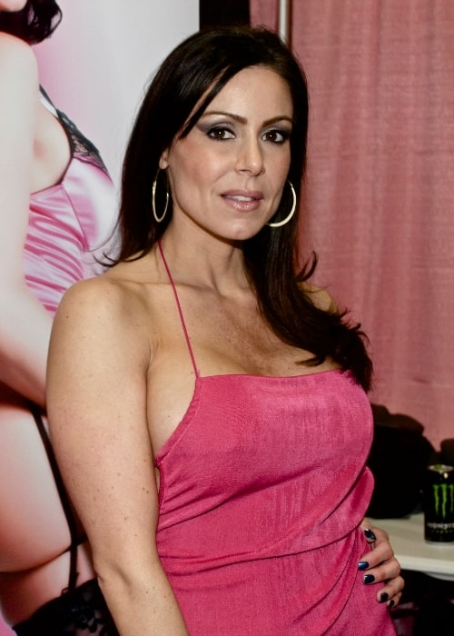 Kendra Lust as seen in a picture taken at Exxxotica New Jersey on November 11, 2012