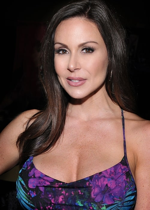 Kendra Lust as seen in a picture taken at Exxxotica in Dallas, Texas on August 9, 2015