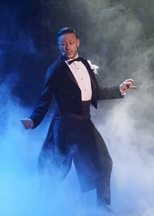 Kevin Clifton as seen in a picture taken during a dance routine on Burn The Dance Floor in May 2019