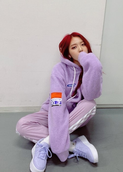 Kim Chanmi as seen in a picture taken in December 2019