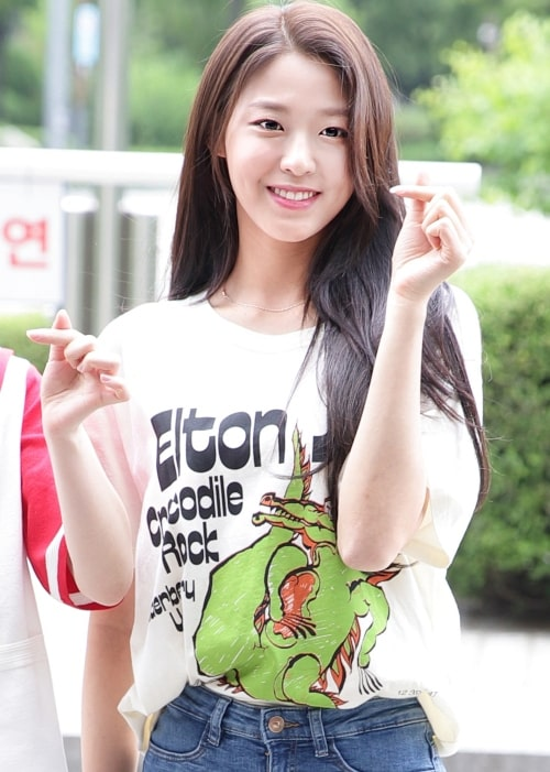 Kim Seol-hyun as seen in a picture taken on May 27, 2018