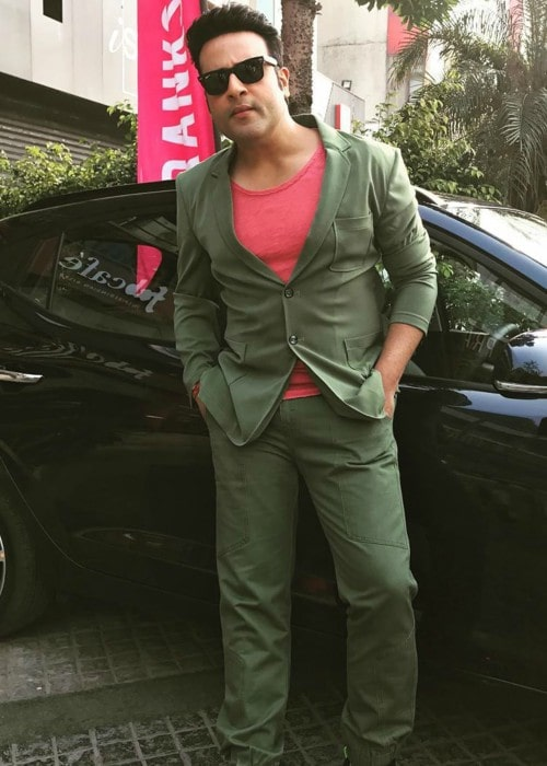 Krushna Abhishek in an Instagram post as seen in November 2019