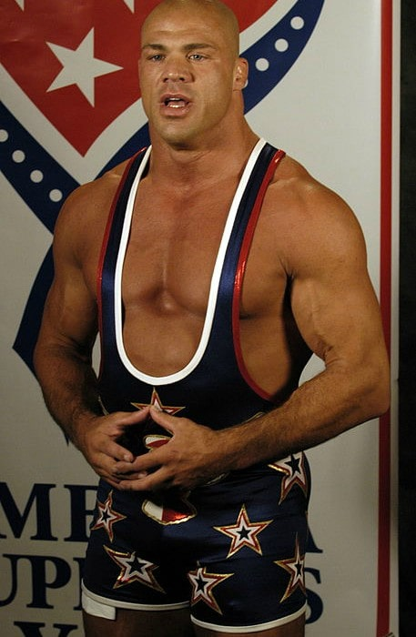 Kurt Angle as seen in August 2005