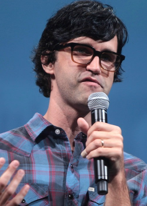 Link Neal at the 2014 VidCon at the Anaheim Convention Center