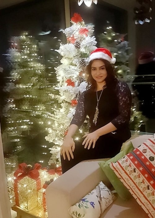 Lissy Lakshmi as seen in a picture taken on the day of Christmas in December 2019