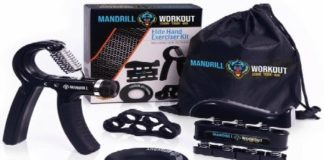 Mandril Hand Grip Strengthener Review