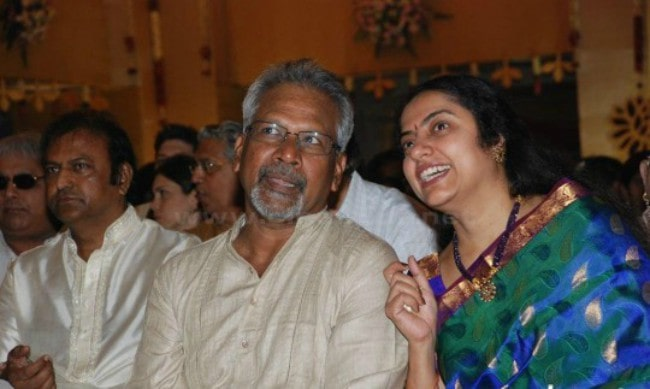 Mani Ratnam and his wife Suhasini as seen in December 2011