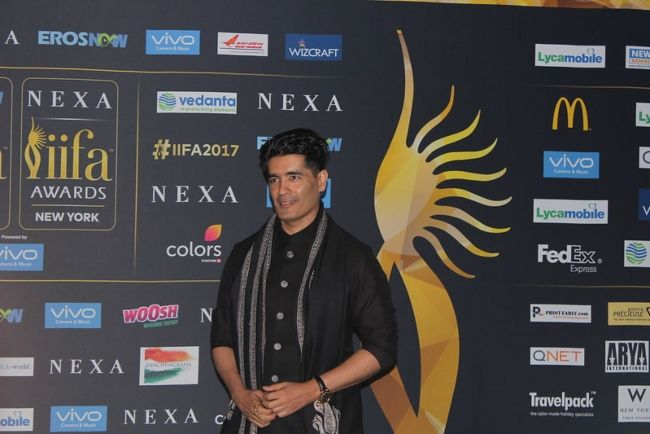 Manish Malhotra seen at the International Indian Film Academy awards in New Jersey in 2017