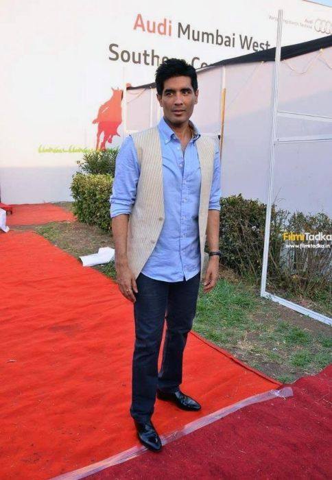 Manish Malhotra seen during his fashion show at the Southern Command Polo Club Cup in 2011