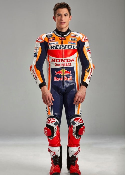 Marc Márquez as seen in January 2019