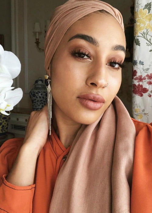 Mariah Idrissi in a selfie in November 2019