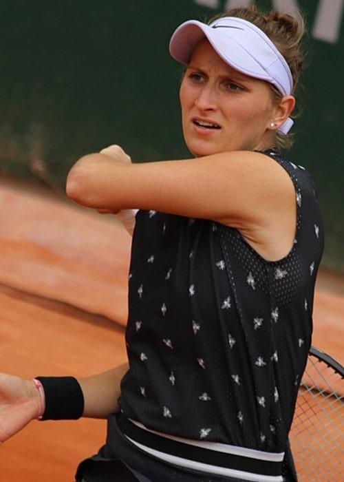 Markéta Vondroušová as seen in May 2019