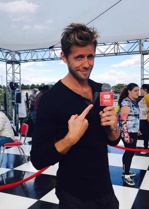 Matt Barr as seen in a picture taken at an iHeartRADIO event in September 2017