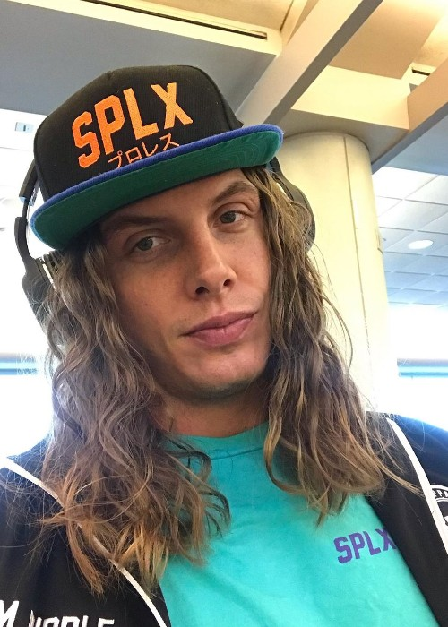 Matt Riddle as seen in August 2019
