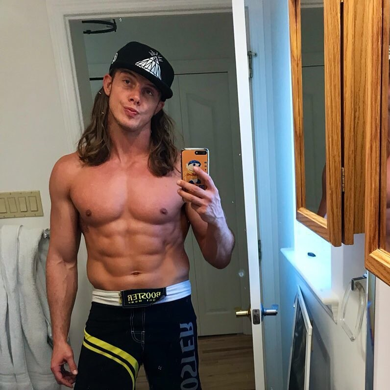 Matt Riddle as seen in December 2019