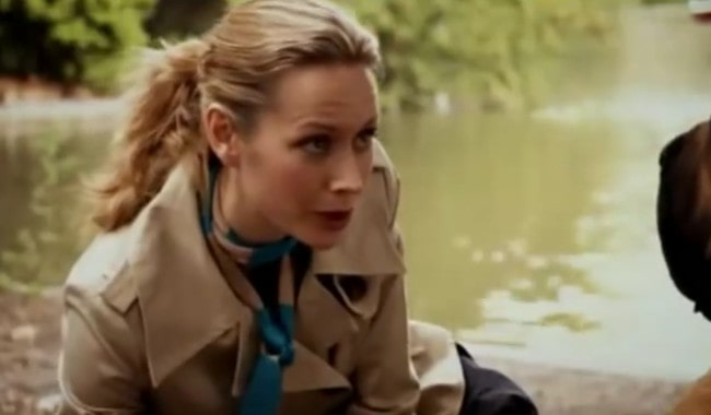 Megan Dodds in a still from Not Going Out in 2006