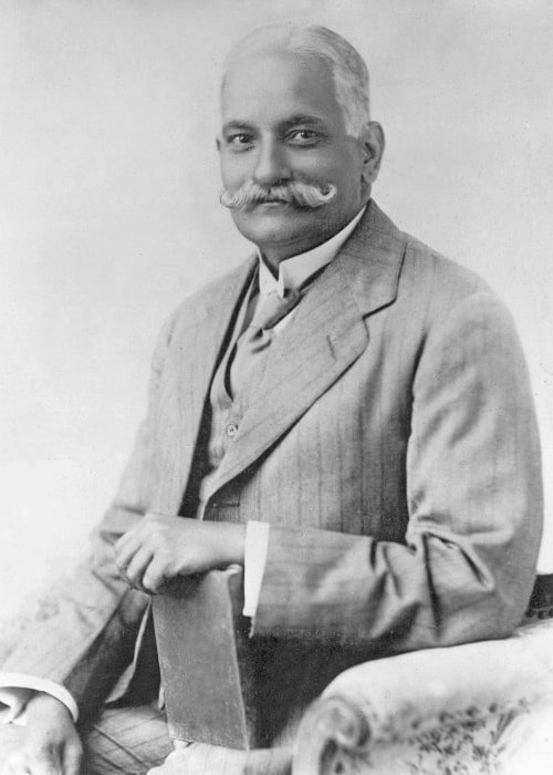Motilal Nehru as seen in a picture taken in the 1920's