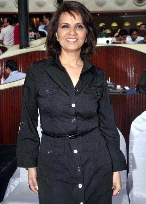 Neeta Lulla as seen in a picture taken at the Press meet of 'Lakme Fashion Week 2012'