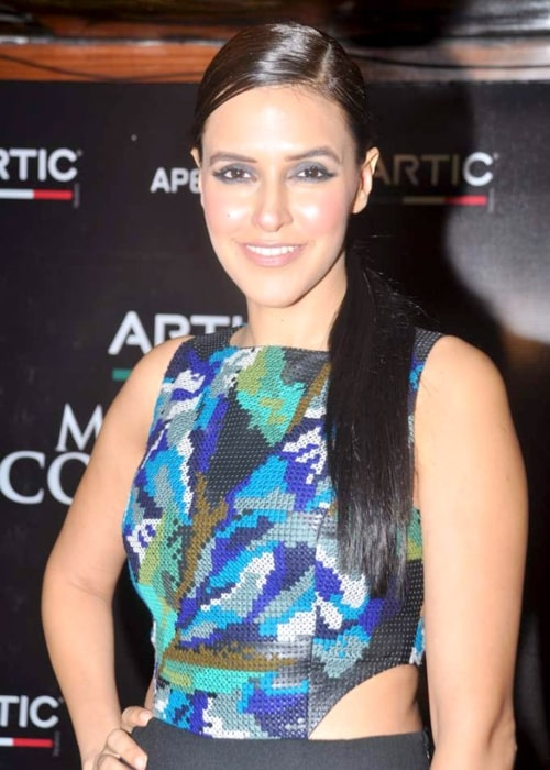Neha Dhupia as seen in a picture taken at the Maxim - Artic Vodka bash on July 25, 2012